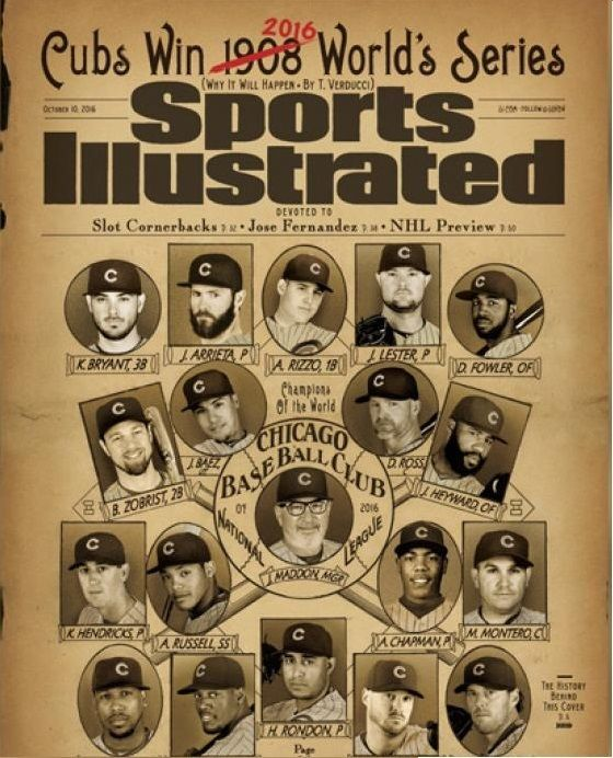 Sports Illustrated 10/10/2016 Cubs Win 2016 World's Series MLB PREVIEW                                                                                                                                                                                 More