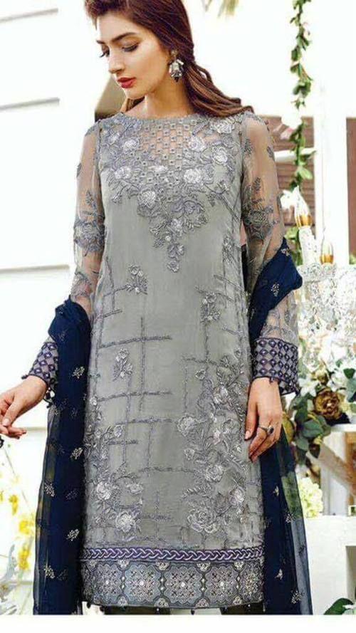 3a716a6d5d Baroque Chiffon Suit | Baroque in 2019 | Dresses, Baroque dress, Fashion