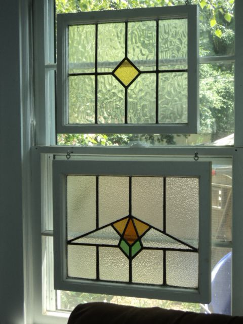 Antique ART Garden: NEAT Ideas for Antique STAINED Glass Windows