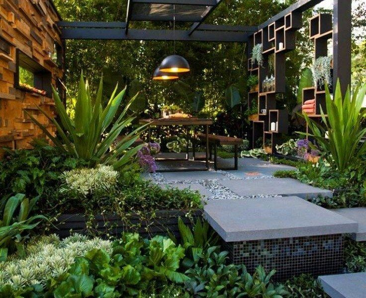 1000 images about my yard on pinterest outdoor benches for Hard landscaping ideas