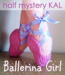 Ballerina Girl half mystery KAL in the prawelewe group on Ravelry. {www.prawelewe.pl}