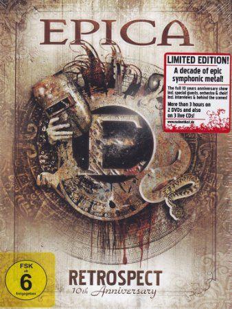 Epica: Retrospect (live) 2 DVD + 3 CD  http://www.amazon.fr/Retrospect-2-DVD-3CD-Epica/dp/B00FJSSK1O