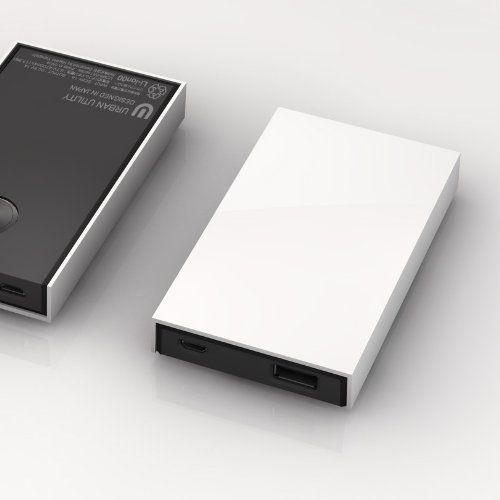 """モバイルバッテリー""""RECTANGLE レクタングル"""" UCMB-RA1ZS (White・白) 4700mAh URBAN UTILITY, http://www.amazon.co.jp/dp/B00B6ZAZYE/ref=cm_sw_r_pi_dp_4L0Ctb19JCYMF"""