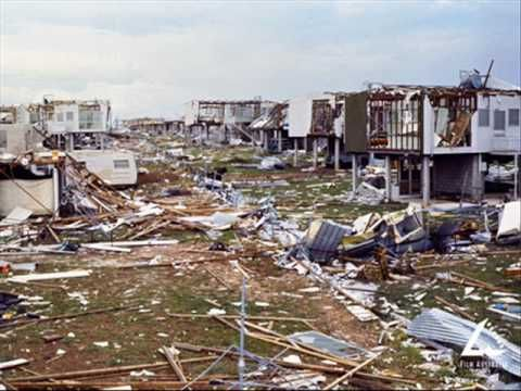 CycloneTracy 1974 (Santa Never Made It Into Darwin). I was nine when Cyclone Tracy hit and I remember saying to mum could you please donate my presents to these poor kids. It was horrible.