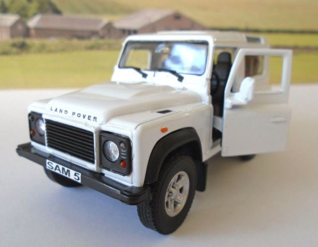 Personalised Plates White Land Rover Defender