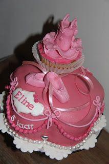 lekker zoet: Dans- ballet taart voor Eline...5 jaar