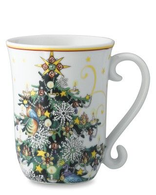 T'was The Night Before Christmas Mugs, Set of 4 #williamssonoma love the handle!!