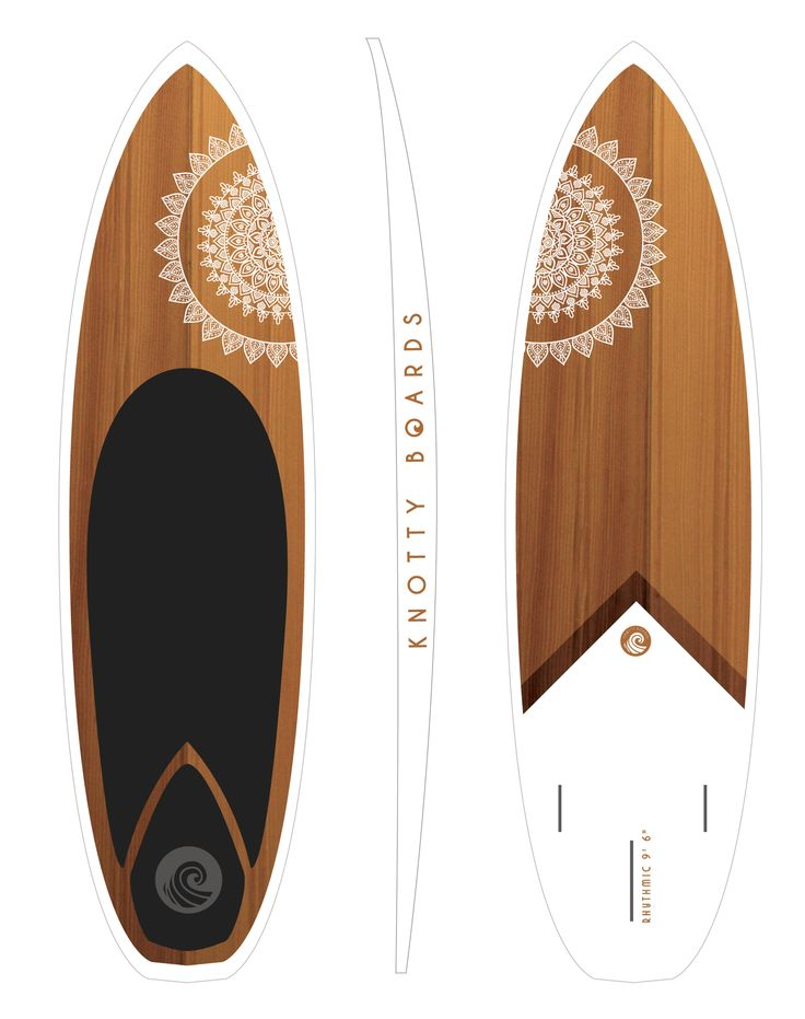 Stand up paddle board, surf style 9.6 Rhythmic.  knotty boards.ca