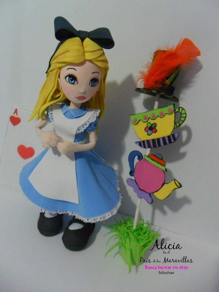 Hecho de un material foamy no tóxico, especial para la decoración fiesta temática de niñas