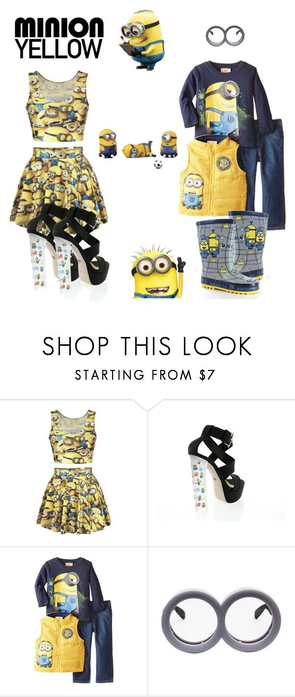 """""""The minions"""" by iseul on Polyvore featuring mode, Ruthie Davis, Universal, Ultimate et CO"""