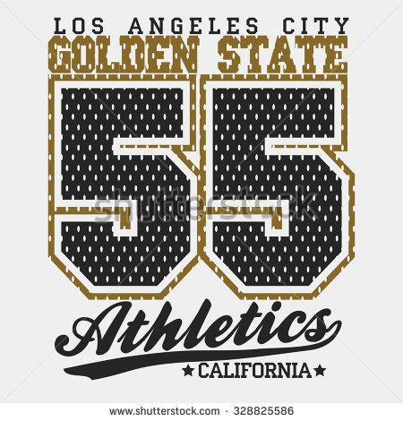 California Print Typography Graphics, California T-shirt Printing Design, original California print wear, Vintage Print for sportswear, California apparel print. Vector