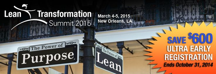 Transformation Summit 2015 is open for registration