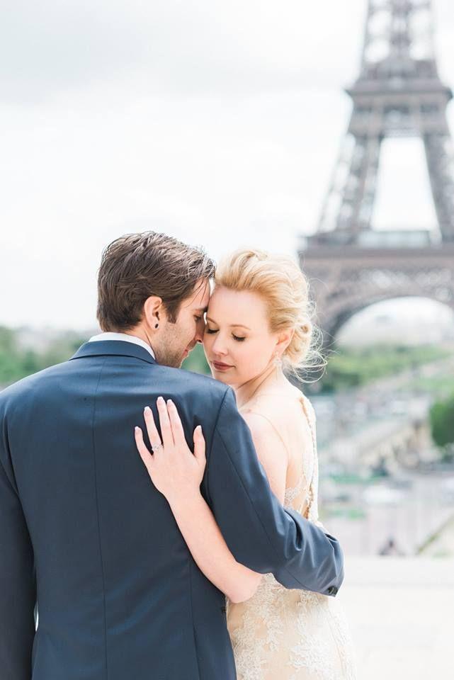 Alysha And Tyler Paris France destination wedding.  4/26/17  #paris #france #Bride #groom #MrandMrs
