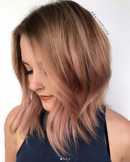 40+ Low Maintenance Lob Haircuts For Women With images ...