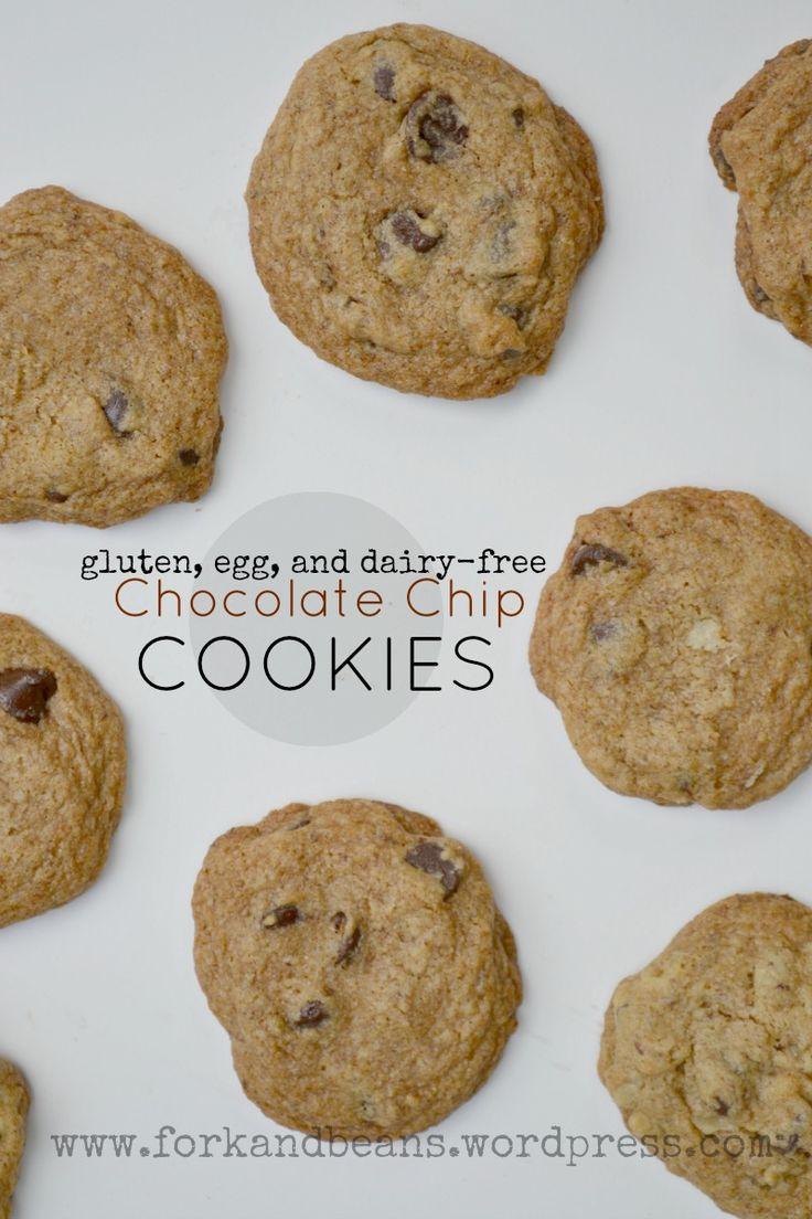 Gluten-free Vegan Chocolate Chip Cookies - Fork & Beans