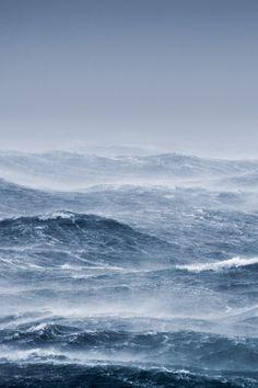 #ocean #storm #windy