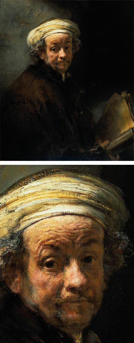 Rembrandt's Self Portrait as the Apostle Paul