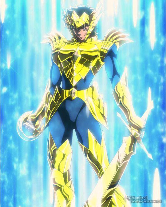 Leo Aioria with Odin Gold Armor. Saint Seiya Soul of Gold.