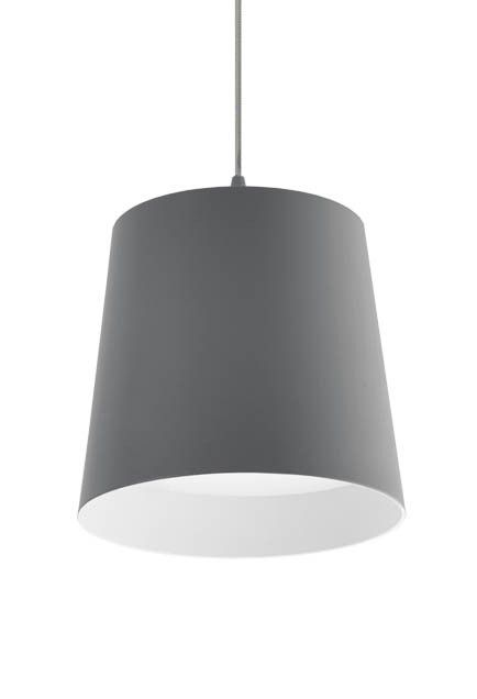 "401131-LED - Single Lamp LED Pendant with Cone Shaped Shade 6"" d x 5 1/2""  123.12"