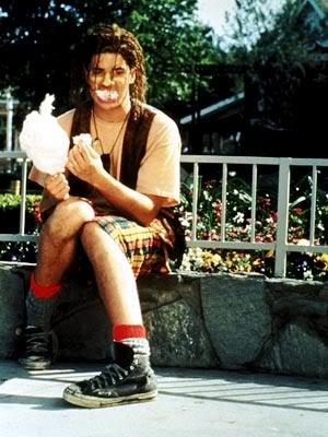 brendan fraser in encino man (1992)  i still have this movie
