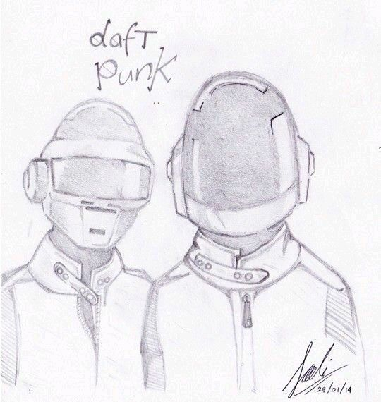 Daft Punk Sketch.