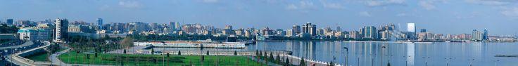 Panorama of Baku - Azerbaijan