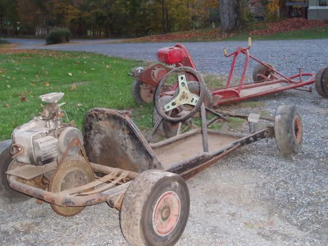 Old Fashioned Go Kart Frames For Sale Cheap Vignette - Ideas de ...