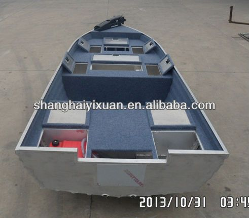 13ft all-welded aluminum fishing boat