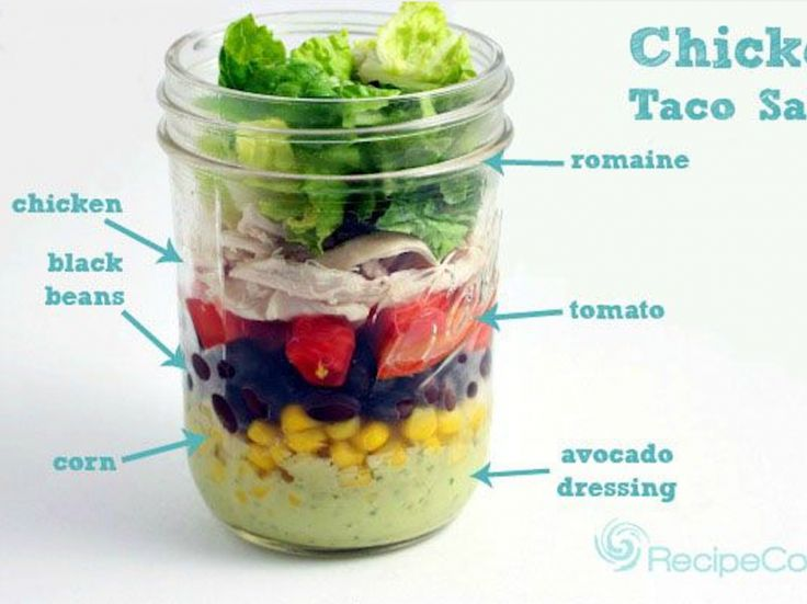 For The Most Instagramable Lunch Ever: 14 Healthy Mason Jar Salad Recipes | Be Well Philly