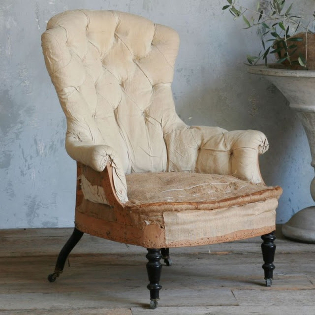 la Brocanteuse: Deconstructed French chairs · Old ChairsVintage ... - 234 Best Old Chairs Images On Pinterest Bath Room, Blushes And