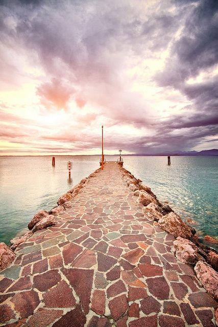 Bardolino, Lake Garda, italy. Break away from your routine and relax. #theplacetobe #corona #coronaextra