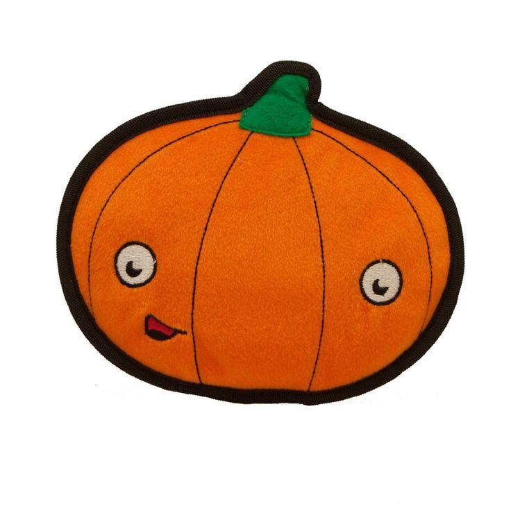 Kyjen Halloween Tuff Ones Pumpkin知育おもちゃなどで人気のアメリカンペットブランド「カイジェン」のハロウィーン限定おもちゃです。こちらは壊れにくい丈夫なおもちゃ「タフワ…