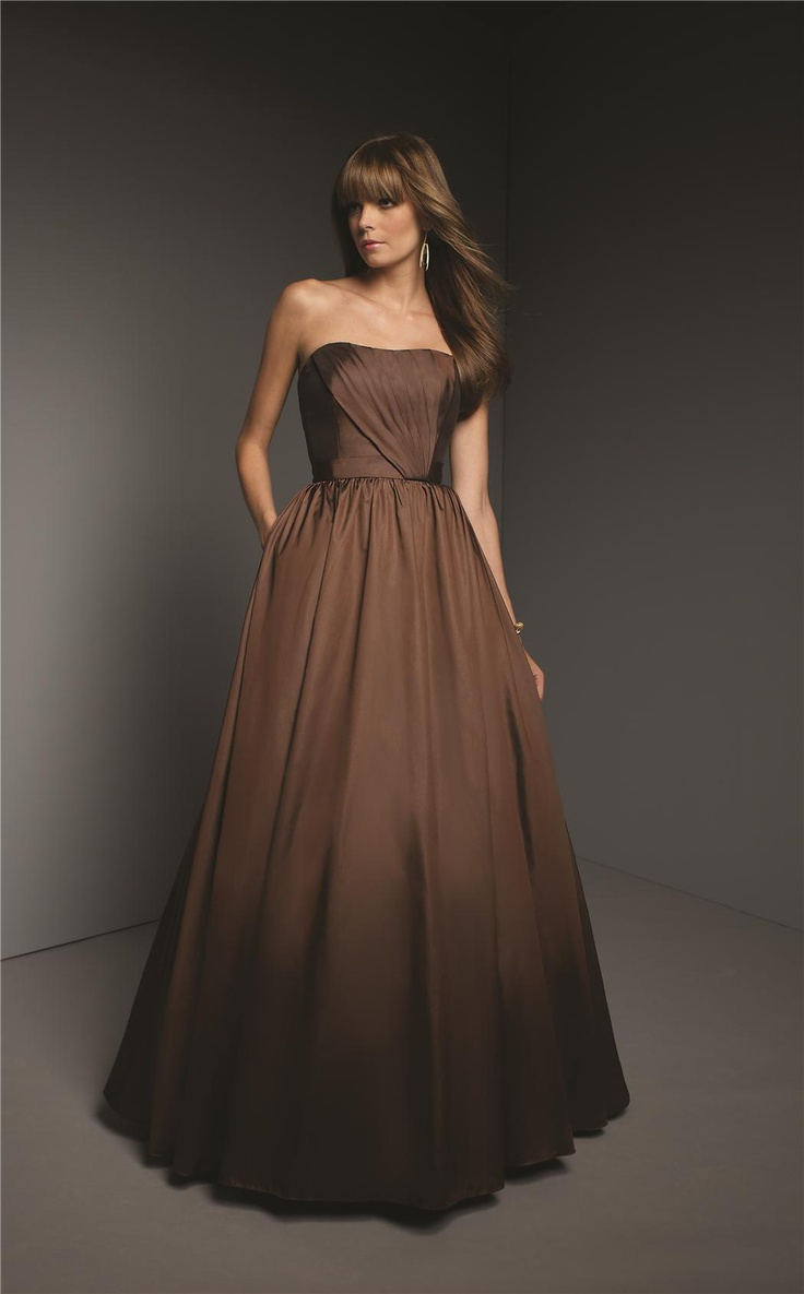 The 25 best bronze bridesmaid gowns ideas on pinterest bronze bronze bridesmaid dresses mori lee another nice fall color ombrellifo Choice Image