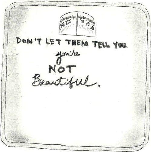 No eres un número!!!  #anorexia #bulimia #nutricion #dietas