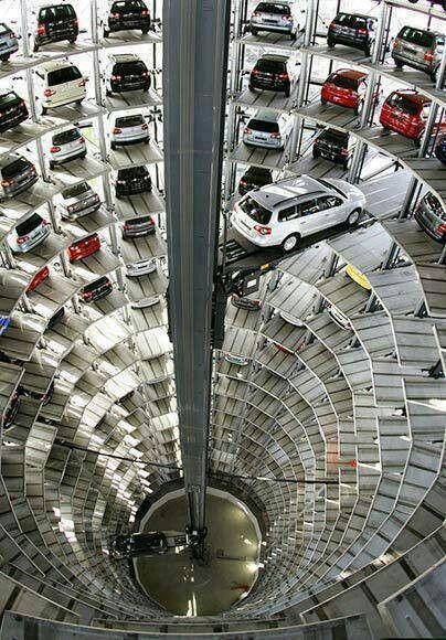 Parking Garage,  Wolfsburg, Germany
