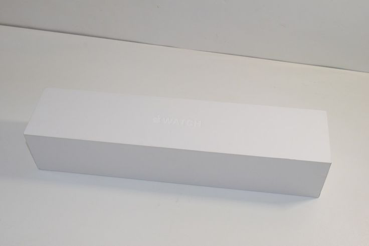 Apple Watch Sport 42mm (MJ3T2LL/A) Box Only - Empty Box