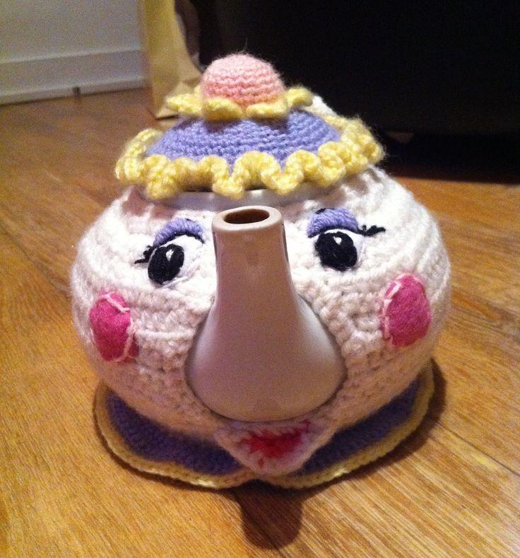 Cache theière Mme Samovar (miss teapot)