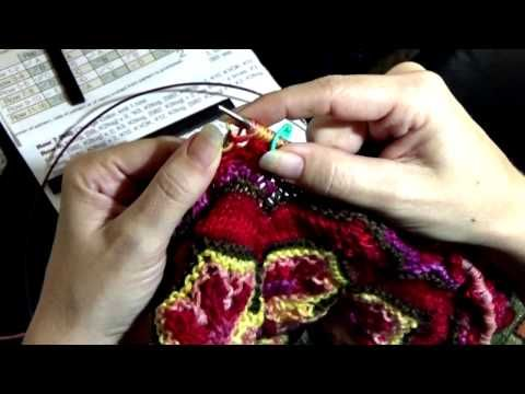 Andre Sue Knits KYOK, SB2 demonstration - YouTube