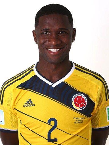 Las fotos oficiales de #Colombia #Fifa #Brasil2014 - Cristian Zapata