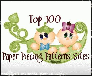 Paper Piecing Pattern Sites. There are weekly freebies.