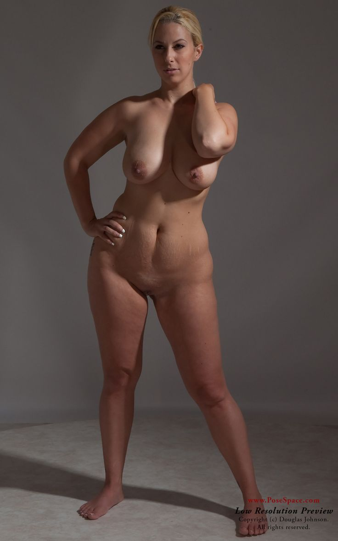 nude female body types