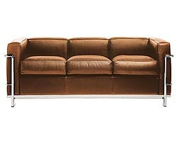 Le Corbusier...the most comfortable sofa I have ever sat upon.  And it could be mine for only $10K