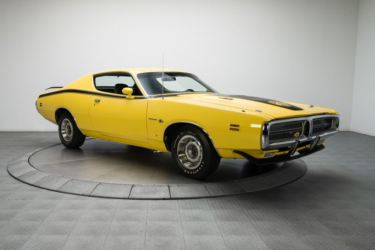 1971 Dodge Charger Super Bee Yellow