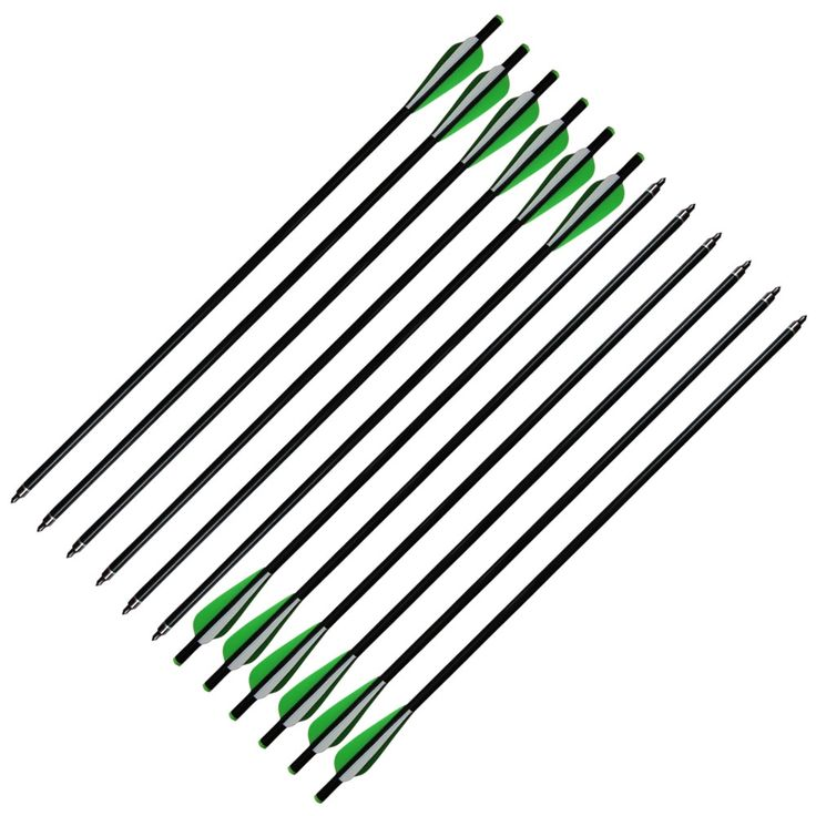 """21.99$  Buy now - http://alig78.shopchina.info/go.php?t=32656616478 - """"12Pcs 20"""""""" Crossbow Bolts Fiberglass Arrows with Screw on/off Tips Flat Nock for <90lb Crossbow"""" 21.99$ #magazineonline"""