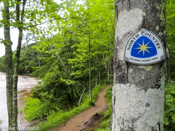 The North Country Trail runs all across the UP and has spectacular hiking