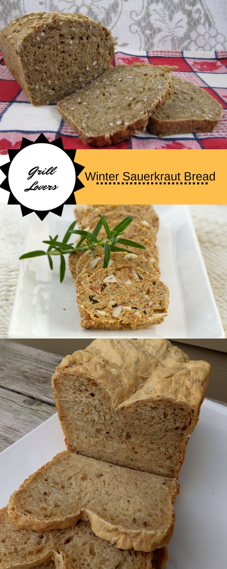 PrintGrill Lovers' Winter Sauerkraut Bread Recipe (Ready in about 3 hours | Servings 10) Ingredients• 1 cup sauerkraut, rinsed and drained • 3/4 cup water, warm • 1 tablespoon dark molasses • 2 tablespoons butter • 2 tablespoons sugar • 1/2 teaspoon allspice • 1 teaspoon caraway seed • 1 teaspoons salt • 2 cups[...]