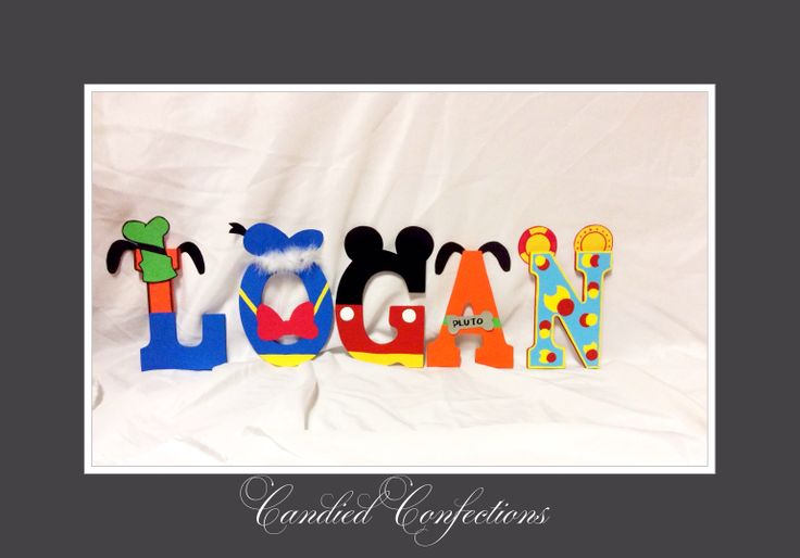 mickey mouse clubhouse letters mickey mouse clubhouse letters candied confections wood 23636