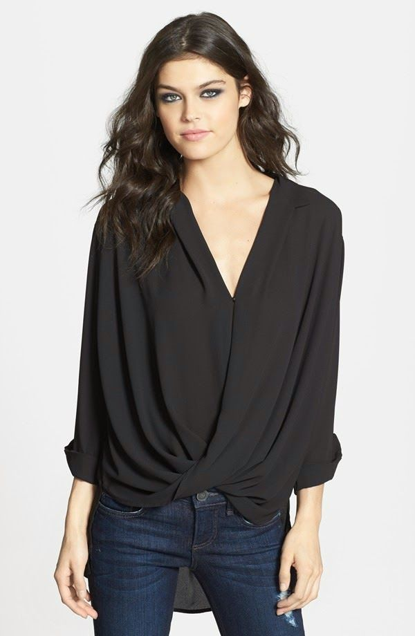 Large Bust Fashion Tips: Draped Tops for Summer