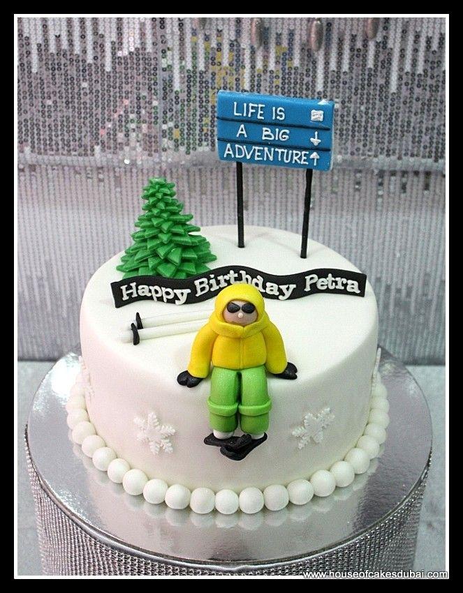 cake ski theme - Google Search