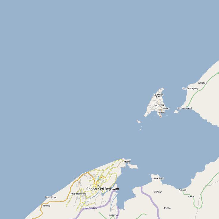Map of Bandar Laburn 122 best Malaysia